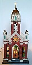 Dept. 56 Holy Name Church # 58875 Christmas In The City Series Mint in Box