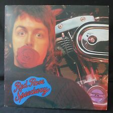 PAUL McCARTNEY WINGS Red Rose Speedway APPLE UK 1st Press 3/3 MATRIX BOOKLET