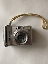 Canon PowerShot A560 Camera 7.1MP Optical Zoom 4X Silver TESTED