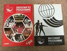 Aberdeen International Football Festival 1983 + Matchday Programme VERY RARE
