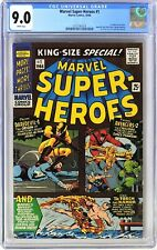 S445. MARVEL SUPER-HEROES #1 CGC 9.0 VF/NM 1966 1st MARVEL ONE SHOT; WHITE Pages