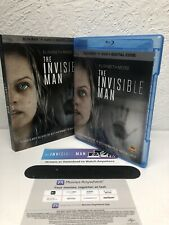 The Invisible Man Blu Ray + Digital Hd (No Dvd Included) Please Read