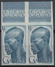Cameroon Sc319 Farmer, Agriculture, Imperf Pair