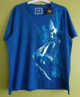 Tigi Womens S/Sleeve Atlantis Fish Print Top Shirt Size 10-24 BNWT RRP £31 Royal