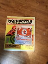 JC Whitney Motorcycle Parts & Accessories Catalog No.11C 1978