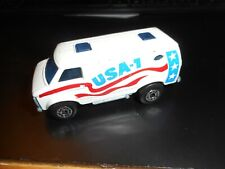 Matchbox Lesney Superfast No 68 Chevy Van White Usa-1, dot dash wheels, England