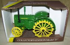 JOHN DEERE D  COLLECTORS EDITION 1/16 SCALE TOY