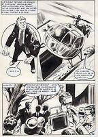 NICK CARTER  LA POUPEE CHINOISE (ALCAZAR) SUPERBE PLANCHE AREDIT PAGE 23