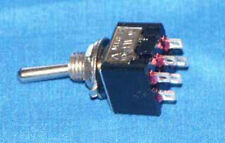 Miniature Dpdt Toggle Switch On/On Pack Of 5 M202