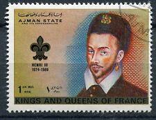 TIMBRE  ROI DE FRANCE HENRI   III
