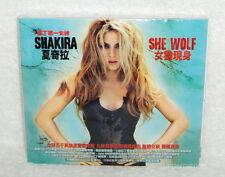 Shakira She Wolf  2009 Taiwan Ltd CD+Sticker w/BOX [Enhanced]