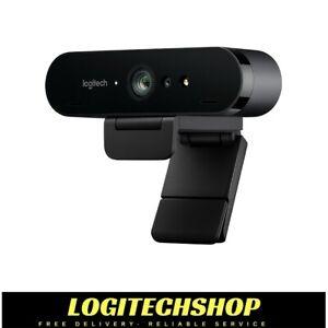Logitech BRIO 4k Ultra HD Webcam (960-001105) In Stock - Free Postage