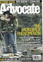 The Advocate February 28 2006 Jake Gyllenhaal Heath Ledger 060719DBE