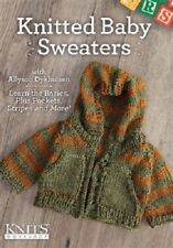 NEW! Knitted Baby Sweaters with Allyson Dykhuizen [DVD]