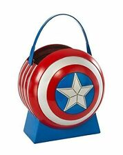 Marvel Avengers Age of Ultron Captain America Collapsible Shield Pail Halloween