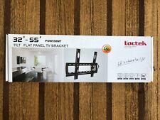 Loctek 32 - 55 inch Tilt Flat Panel TV Wall Bracket Black