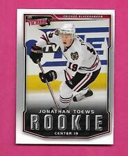 2007-08 VICTORY # 316 HAWKS JONATHAN TOEWS ROOKIE MINT  CARD  (INV# C4473 )
