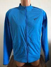 2082b2a315d2 Nike Golf Hyperadapt Aerolayer Waterproof Jacket Blue Mens Size M Medium  726242
