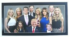 PRESIDENT DONALD J TRUMP & FAMILY GLOSSY POSTER PICTURE PHOTO USA