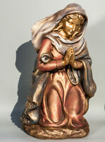 Our Lady Statue Christian Religious Virgin Mary Sculpture Holy Mother Kneeling