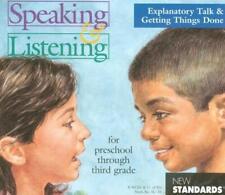 Speaking & Listening Explanatory Talk & Getting Things PC MAC CD NCEE standards!
