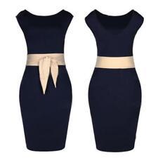 Regular Size Cotton/Spandex Casual Dresses for Women