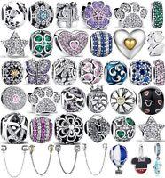 Authentic 925 Sterling Silver Do Dreams Charm Bead fit European Bracelet