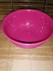Small Pink plastic bowl