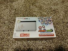Nintendo 3DS XL System Mario & Luigi Dream Team Silver 2013 Brand New