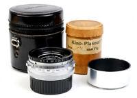 Ex Hugo Meyer Kino Plasmat 35mm f/2 1 3/8 Inch F2 Modified to Leica M M10 M9-P