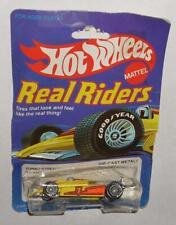 Vintage 1983 Hot Wheels Real Riders Turbo Streak Yellow Indy F1 Moc 1980's Gyg
