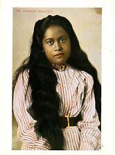 Postkarte - Reproduktion - Hawaiian school girl of the 1900s