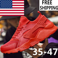 Air Huaraches Men's Comfortable City Low Running Sneakers Triple Shoes
