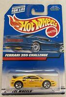 2000 Hotwheels Ferrari F355 355 Challenge Yellow! Mint! MOC!