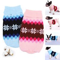 Hundepullover Pullover für Hunde und Katzen  Strickmantel Hundejacke Wolle L 2XL