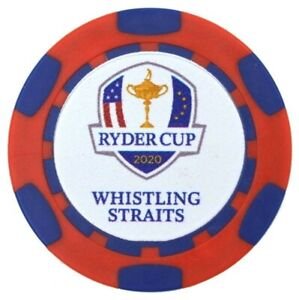 2020/21 43rd RYDER CUP (Whistling Straits) -RED/BLUE- Poker Chip