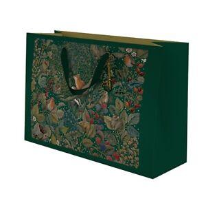 Landscape Secret Garden Gift Bag - 250 x 200 x 100mm – Beautiful Wildlife Design