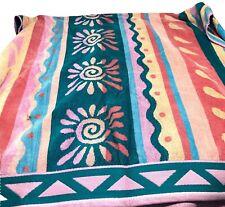 """Bath Towel 56""""x31"""" Vintage Retro Mid Century Pink Multicolor Soft"""