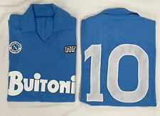 1 maglia MARADONA NAPOLI BUITONI 10 1986/87 tessuto originale acrilico vintage