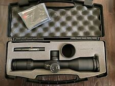 Trijicon 3-15x50 Riflescope MOA, Duplex Reticle-Red LED FFP TARS102