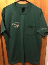 9d28b6615059e BOLLAG INTERNATIONAL GUN CLUB VTG Mens LRG River Bend Resort SC Pocket T  Shirt