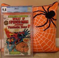 WHAT IF #1: CGC 9.8 AMAZING SPIDER-MAN FANTASTIC FOUR JOHN ROMITA JOE SINNOTT