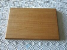 Wooden display base made from solid oak 5x5 inch square 128x128mm