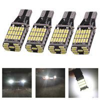 4pcs T15 W16W 45SMD LED Auto Birne Rückfahrlicht Fehlerfrei Canbus Blinker Lampe