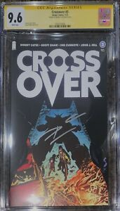 Crossover #3 CGC SS 9.6 Signed Donny Cates