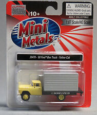 CLASSIC METAL WORKS HO 1960 FORD BOX TRUCK train MINI METALS yellow 30478 NEW