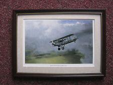 Edmund Miller Aircraft print 'Hawker Hind' FRAMED