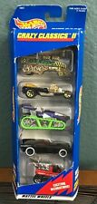 1997 Hot Wheels Mattel Crazy Classics II Collection Gift Pack 18827, 5 Cars, NEW