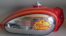 Royal Enfield Bullet Fuel Tank # 802056  Red 1950-2007