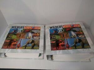 Wildlife Explorer 2 Binders with 459 Cards in total.